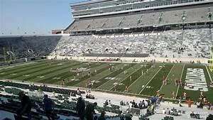 Michigan State Spartan Stadium Seating Chart Spartan Stadium Section 6 Rateyourseats Com