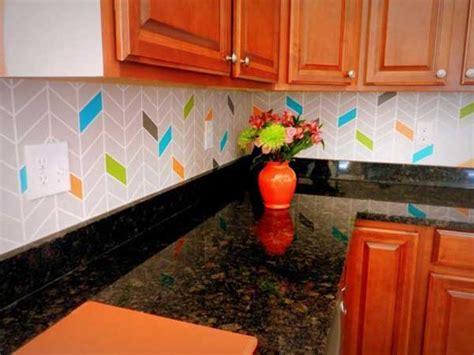 Kitchen Backsplash Diy by 24 Low Cost Diy Kitchen Backsplash Ideas And Tutorials