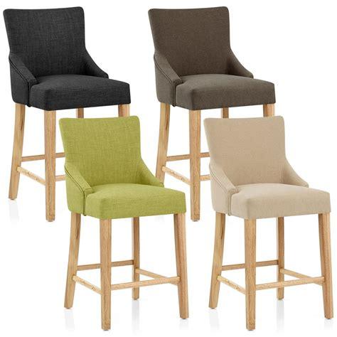 but chaise de bar chaise de bar bois tissu magna monde du tabouret