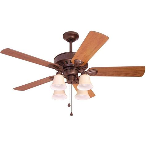 harbor breeze flush mount ceiling fan shop harbor breeze plymouth 50 in bronze downrod or flush