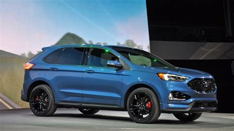 ford edge st review interior release date