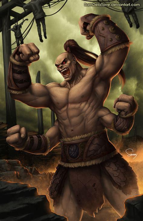 Goro Mortal Kombat X By Samdelatorre On Deviantart