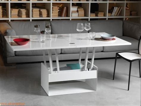 table basse table basse convertible en table a manger