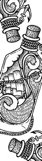 mes marque pages  colorier motifs marins enpc