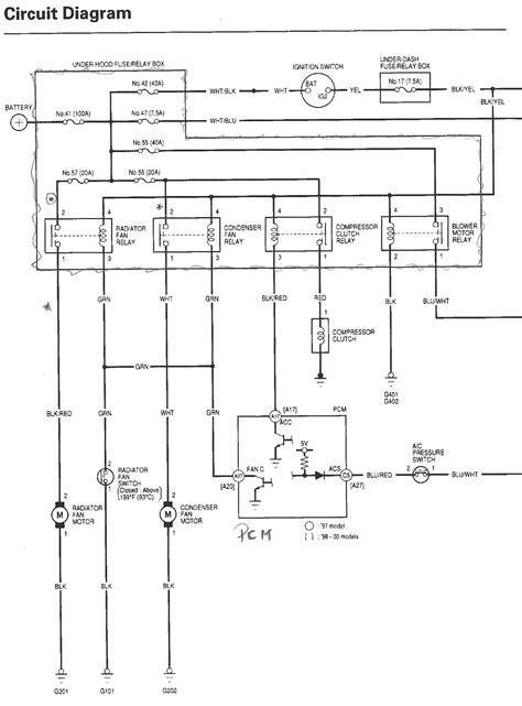 1998 honda accord wiring diagram wiring diagram and