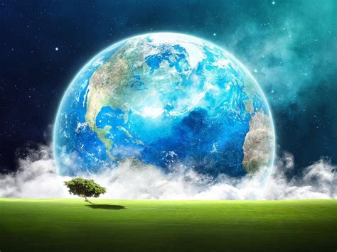 Awesome Earth HD wallpaper