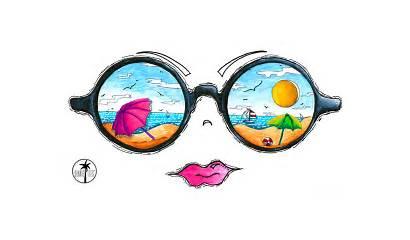 Beach Sunglass Duncanson Megan Sunnie Tees Painting