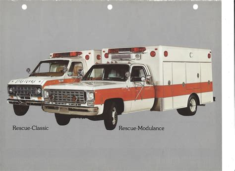 modular ambulance corp rescue series ambulance hearse