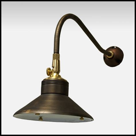 enterprise low voltage wall mounted light weathered brass
