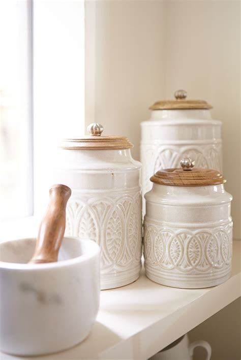 white ceramic kitchen kitchen canisters white 28 images baker and white