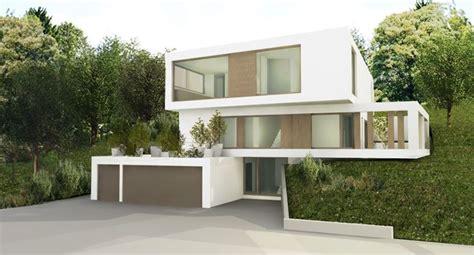 Moderne Architektur Häuser Am Hang by Www Simonundstuetz At Haus Am Hang Einrichten Und
