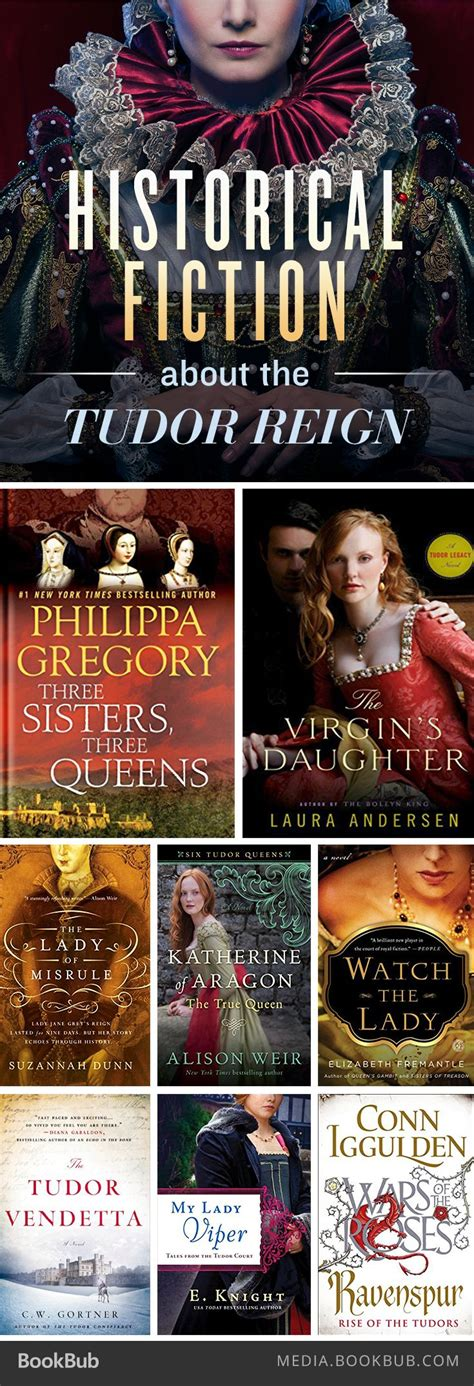 8 Historical Fiction Books About The Tudor Reign Böcker