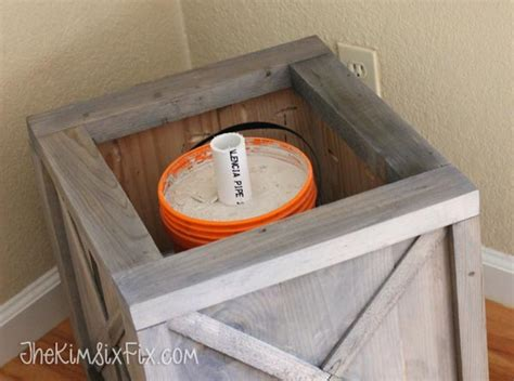 rustic crate christmas tree stand buildsomething com