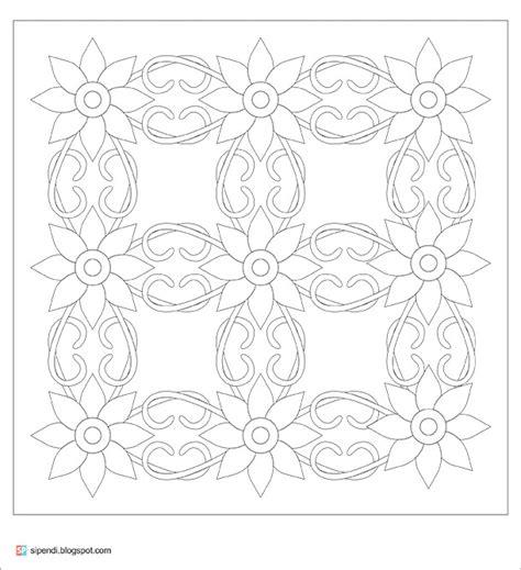 pola batik untuk anak sd