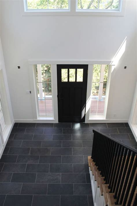black tile floor kitchen white walls black door and tile floor all that39s tile 4749