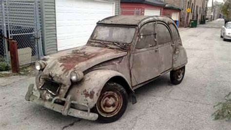 Dirty French Project: 1968 Citroen 2CV