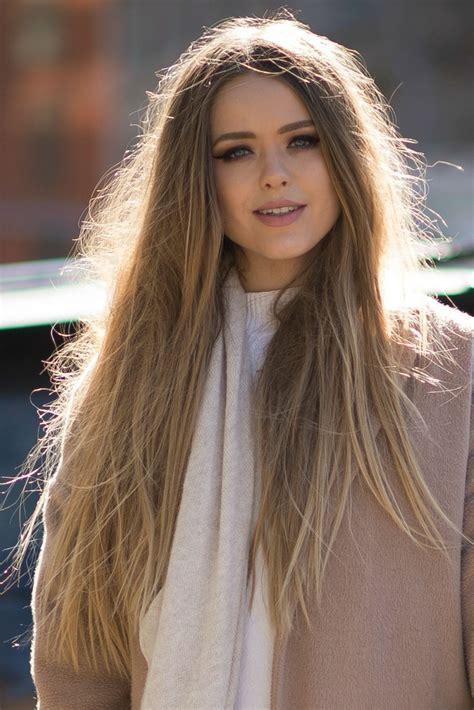 Fall Fashion Week Hair Trend Long Hair At New York