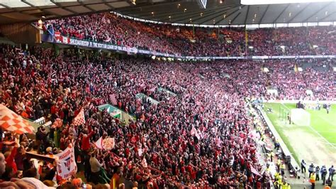Aberdeen FC Winning the Scottish League Cup 2014 - YouTube