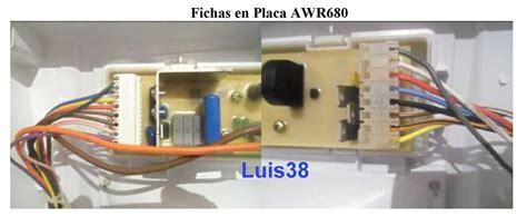 solucionado problemas de conexion de fichas laterales eslabon awr680 yoreparo