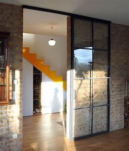 Wohnzimmertür Mit Glas : schlanke stahl glas schiebet r schiebet r glas glast r wohnzimmer und schiebe t r ~ Watch28wear.com Haus und Dekorationen