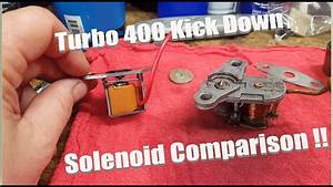 Th400  Turbo 400  Transmission Kickdown Solenoid