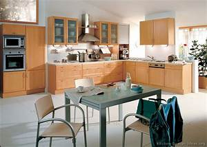 Pictures of Kitchens - Modern - Light Wood Kitchen