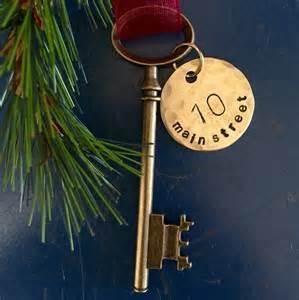 first home ornament skeleton key christmas ornament key