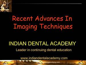 Recent Advances In Imaging Techniques Certified Fixed