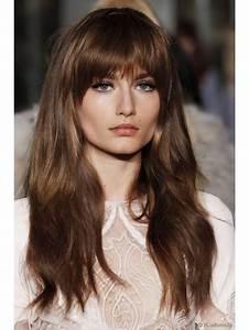 Human Hair Color Chart Light Brown Real Long Human Hair Wigs With Full Bangs