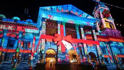 Mapping Projection Christmas Projector Building Software Festival