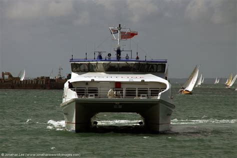 Cost Of Catamaran From Portsmouth To Ryde by Isle Of Wight 29th June 2nd July 2012 Jonathan Lee
