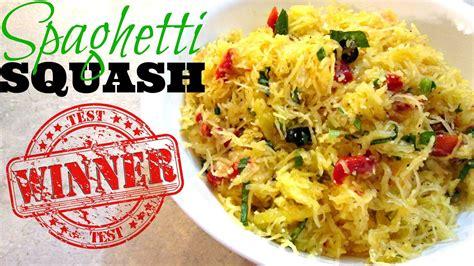 Spaghetti Squash Pasta Baked Recipe