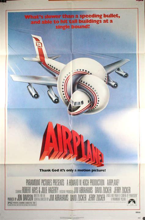 AIRPLANE, Original one sheet movie poster