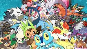 All 6th Gen Revealed Pokemon Wallpaper by KuraiNight on ...