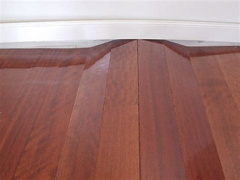 Hardwood Floors Cupping Humidity by Floorboards