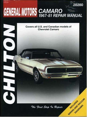chilton car manuals free download 1988 lotus esprit electronic toll collection read online chevrolet camaro 1967 81 chilton total