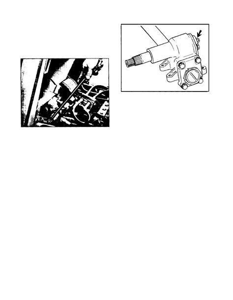 Typical Pitman Arm Shaft Locknut Torque