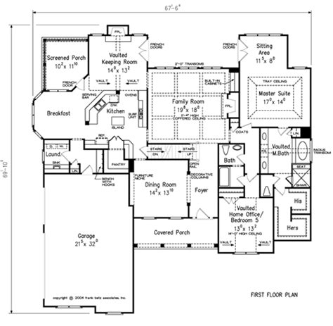 Frank Betz Summerlake Floor Plan by Greywell Home Plans And House Plans By Frank Betz Associates