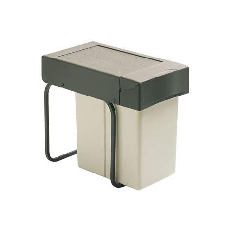 bac poubelle cuisine poubelle sous évier 1 bac 20 litres