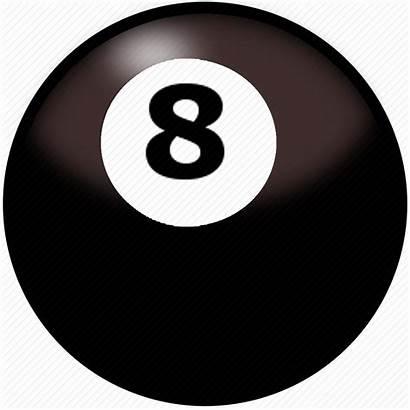 Ball Pool Icon Eight Billiards Sport Balls