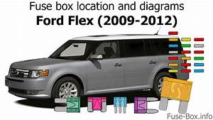 Fuse Box Location And Diagrams  Ford Flex  2009-2012