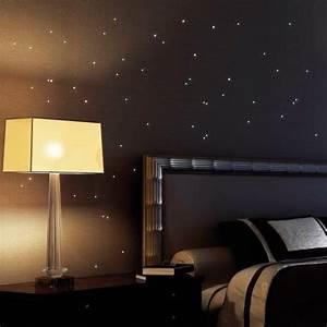 Leuchtsterne Für Kinderzimmer : wandtattoo loft 50 st ck leuchtpunkte fluoreszierende punkte leuchten im dunklen ~ Watch28wear.com Haus und Dekorationen