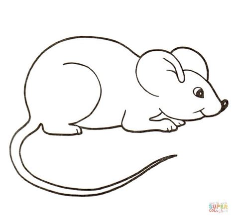house mouse coloring page free printable coloring pages