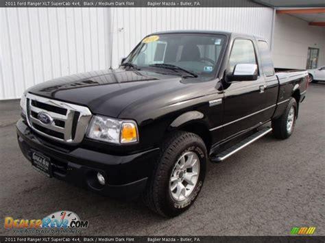 2011 Ford Ranger Xlt by 2011 Ford Ranger Xlt Supercab 4x4 Black Medium