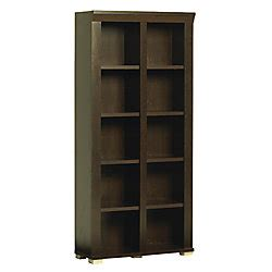 Christopher Lowell Bookcase by Christopher Lowell Town Collection Library 73 14 H X 33 34