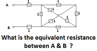 Homework Exercises What The Equivalent Resistance