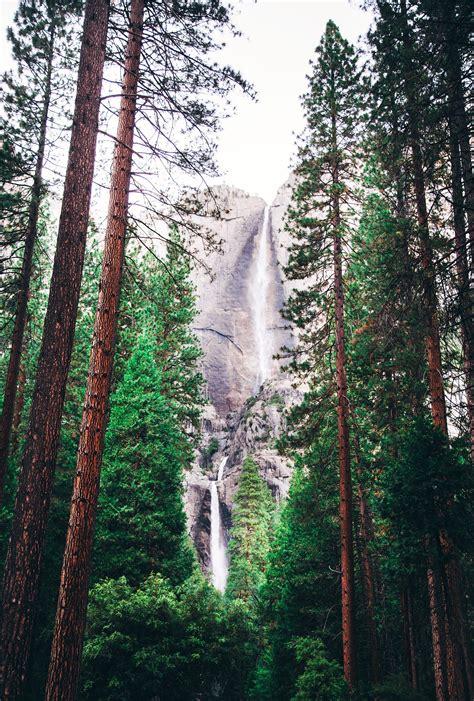landscape photography  waterfall  stock photo