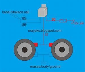 Jual Klakson Keong Denso  Waterproof  U0026 Nge-bass