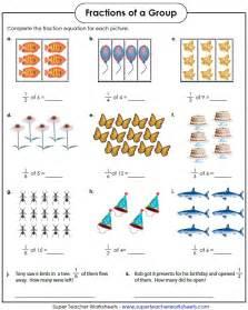fraction of a number worksheet fraction worksheets