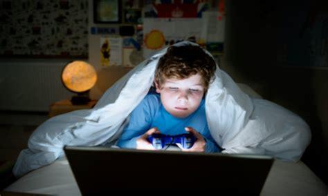 Video Games Disrupt Sleep